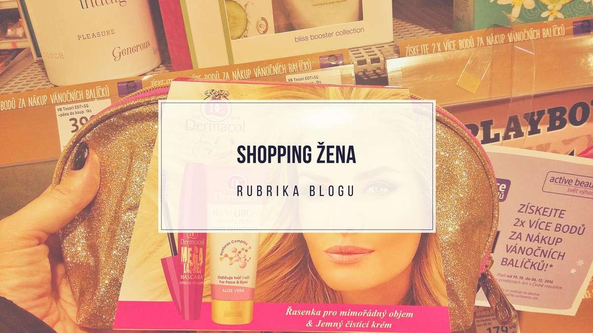 shopping žena