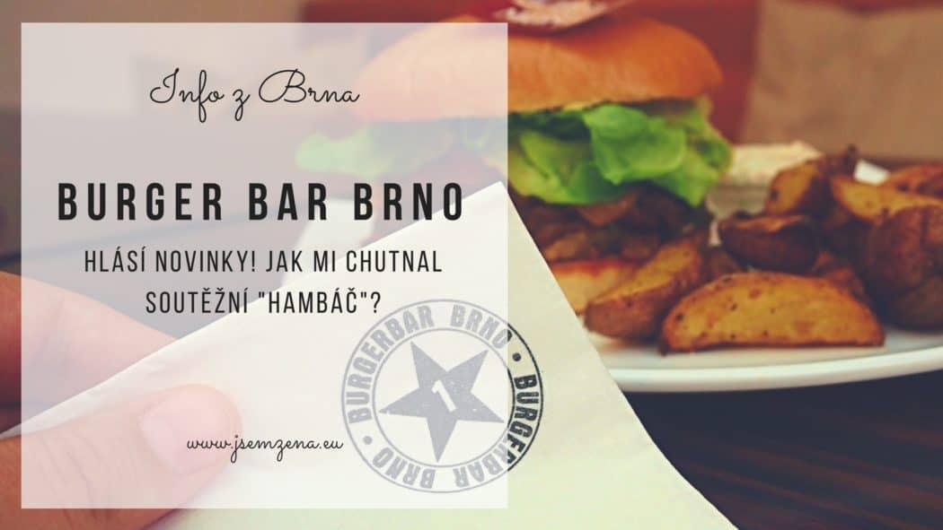 burger bar brno