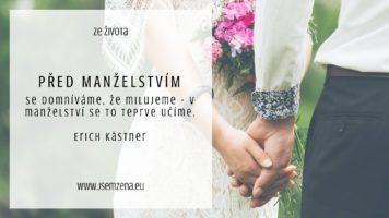 Svatba a manželství: ANO nebo NE?