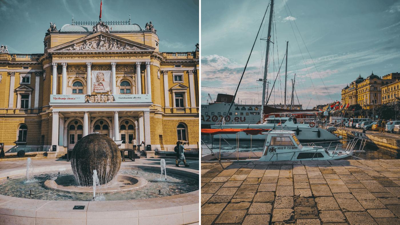 cestování a výlety Rijeka 2